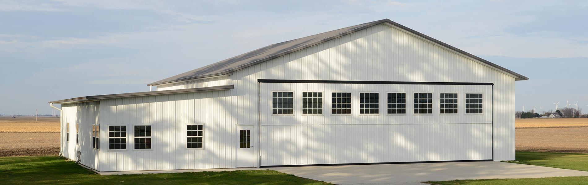Suburban buildings | Post Frame Construction Mi-Way Enterprises ...
